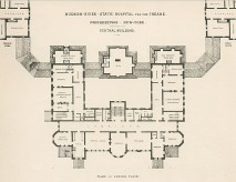 Hudson River State Hospital floor plan