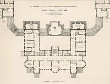 Hudson River State Hospital floor plan