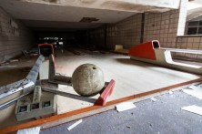 Hudson River State Hospital Snow Rehabilitation Center bowling alley