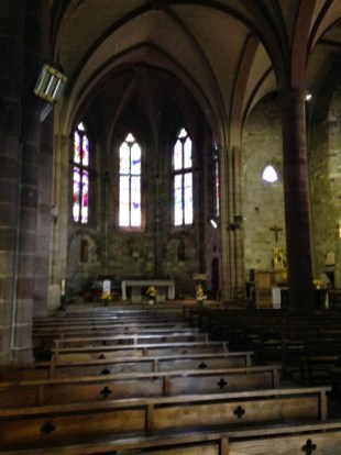 First, but certainly not last church on the Camino...