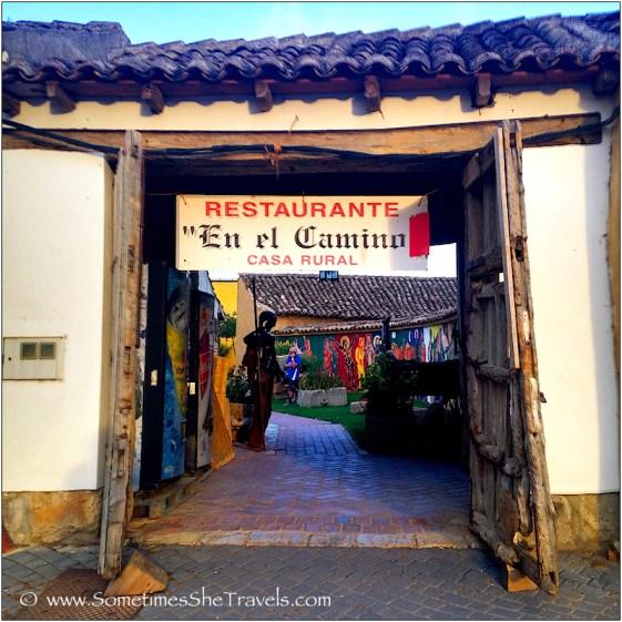 entryway to restaurant