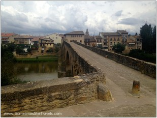 CF Day 5: Puente la Reina Bridge