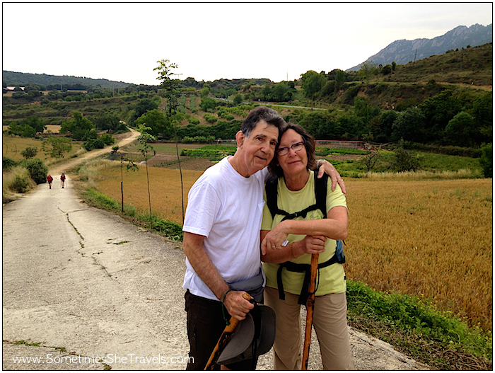 I had the tendency to at least greet, if not introduce myself to just about everyone I came across on the Camino. This couple shared their poignant story about walking the Camino in memory of their son. We continued to cross paths over the next week and shared a special connection.