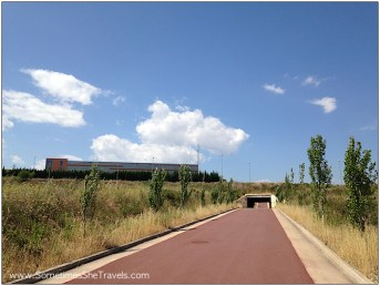 Camino de Santiago: Entering Logroño
