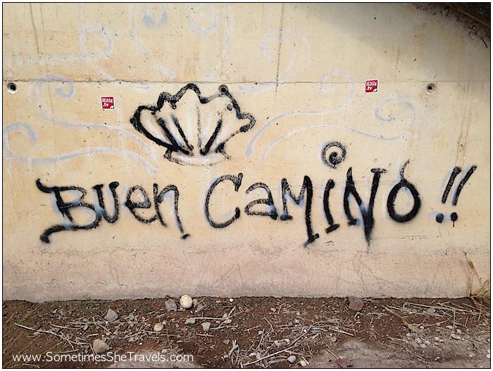 Camino de Santiago: Buen Camino Graffiti