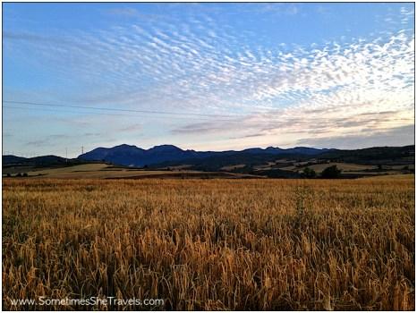Camino de Santiago: Morning Light Outside Torres
