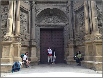 Camino de Santiago: Church in Viana