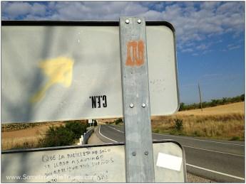 Camino de Santiago: Highway Arrow