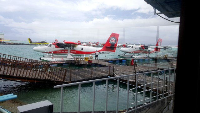 Seaplane from Male