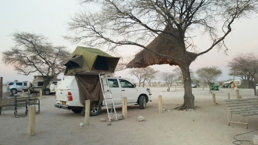 Travelling alone in Namibia