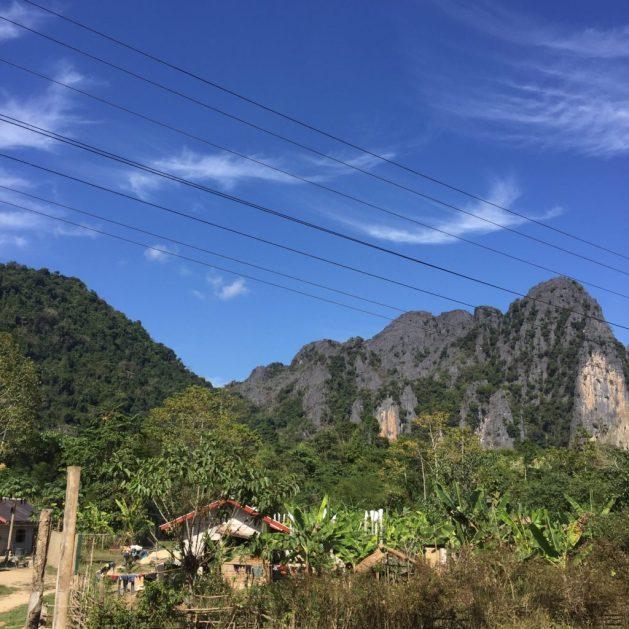 Vang Vieng, Laos, karst scenery