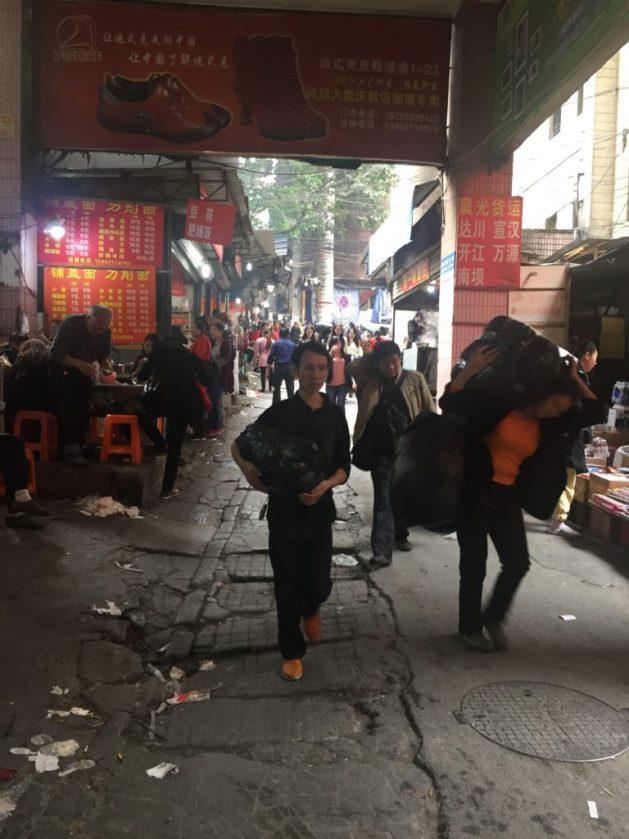 Chongqing street scene
