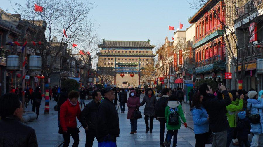 Qianmen in Beijing, China