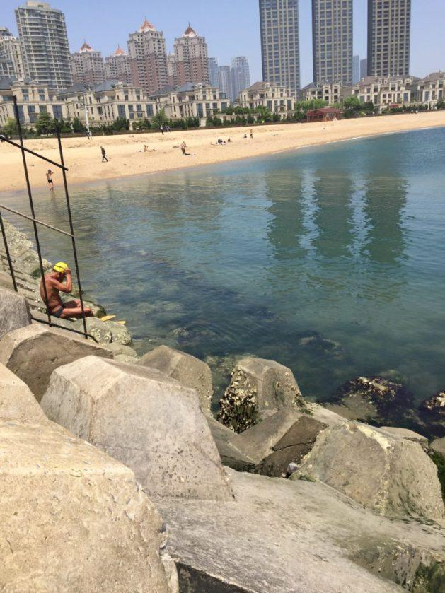 Dalian often has clear seas