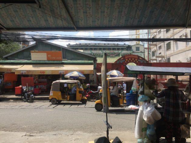 Indian autorickshaw in Phnom Penh, Cambodia