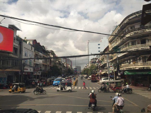 Indian autorickshaws in Cambodia