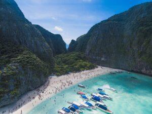 Maya Bay, Phi Phi Ley, Thailand