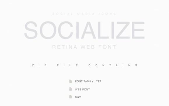 socialize-font