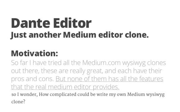 Dante-Editor