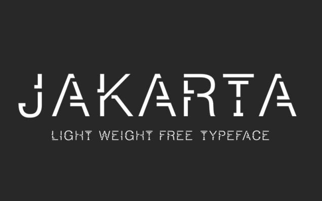 Jakarta-Free-Font
