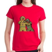 zombie_gingerbread_man_tshirt