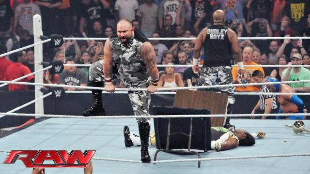 Dudleyz on RAW