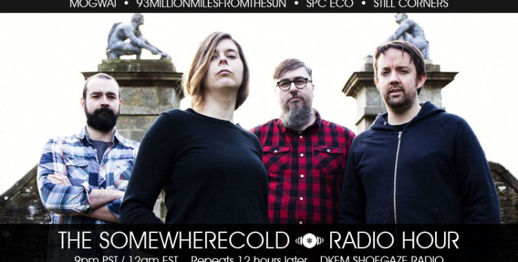 STREAMING NOW! The Somewherecold Radio Hour Episode #13 - The UK Part 1