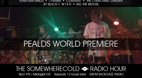 THIS WEDS: The Somewherecold Radio Hour #31 - Pealds World Premiere