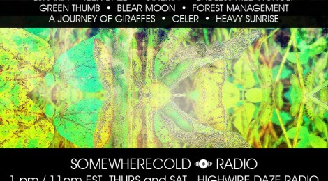 NOW STREAMING! The Somewherecold Radio Hour 36