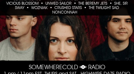 THIS THURS/SAT: The Somewherecold Radio Hour #38