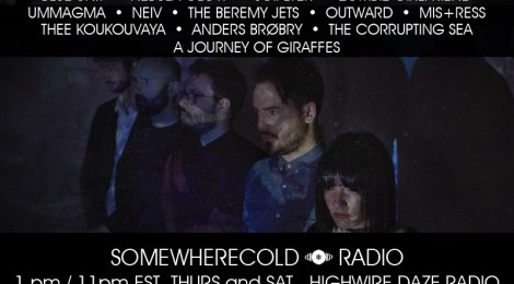 NOW STREAMING: The Somewherecold Radio Hour #41
