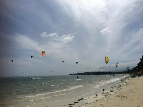 Kite Surfing at Bulabog Beach