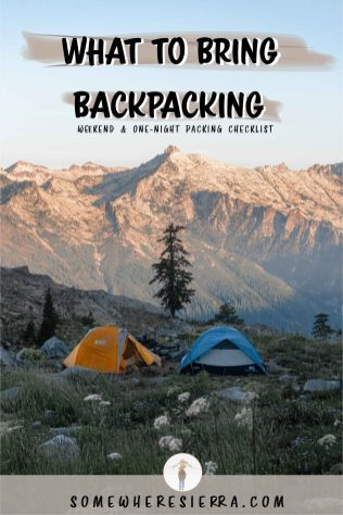 Backpacking Gear | My Must HAve Items | Somewhere Sierra