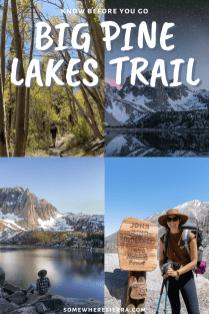 Backpacking To Big Pine Lakes | Somewhere Sierra