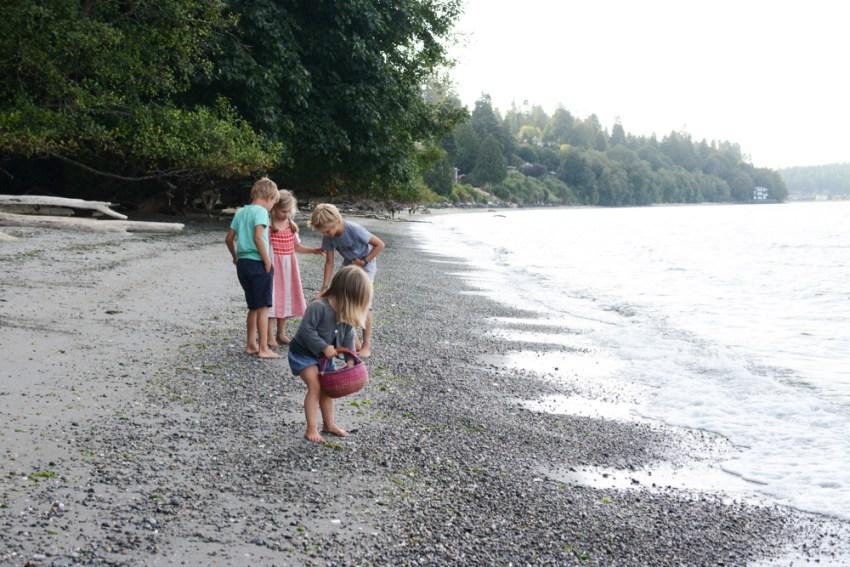 four on the beach