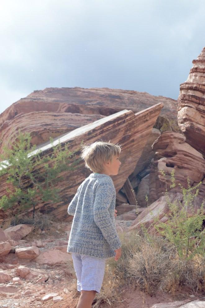 hiking red rock