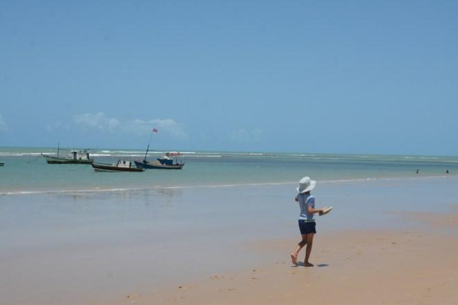 quin on beach