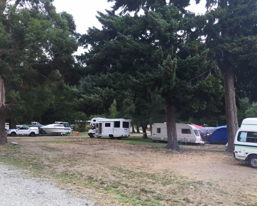 Lake Hawea campsite