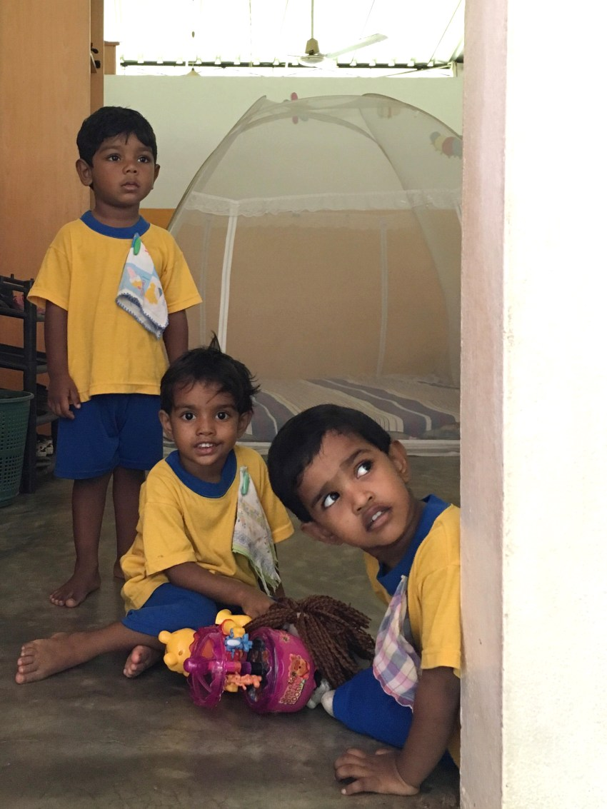 boys at rainbow centre