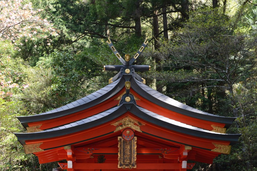 Hakone shrine detail