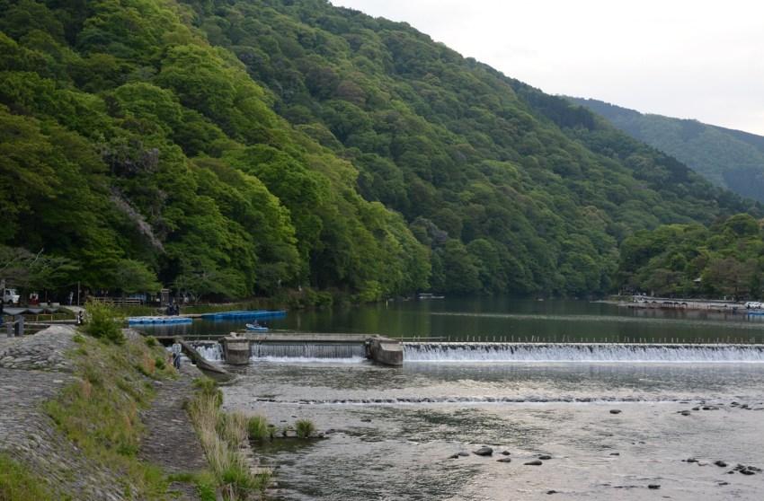 river in kyoto
