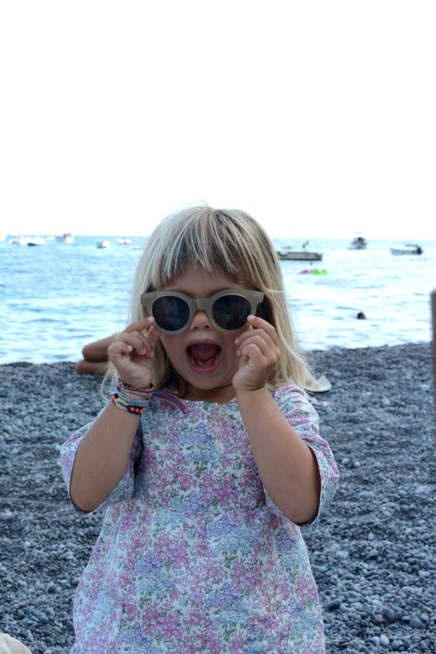 Marlow in Fifi's sunglasses
