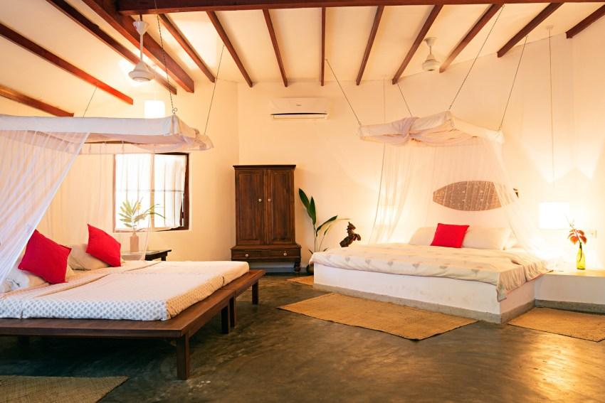 The Hideaway bedroom