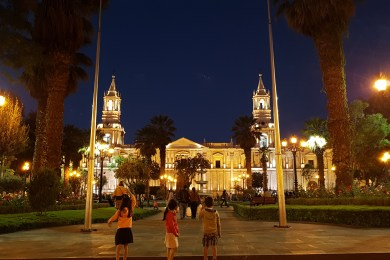 Arequipa by night 2