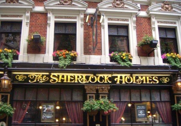 Sherlock Holmes Pub-London