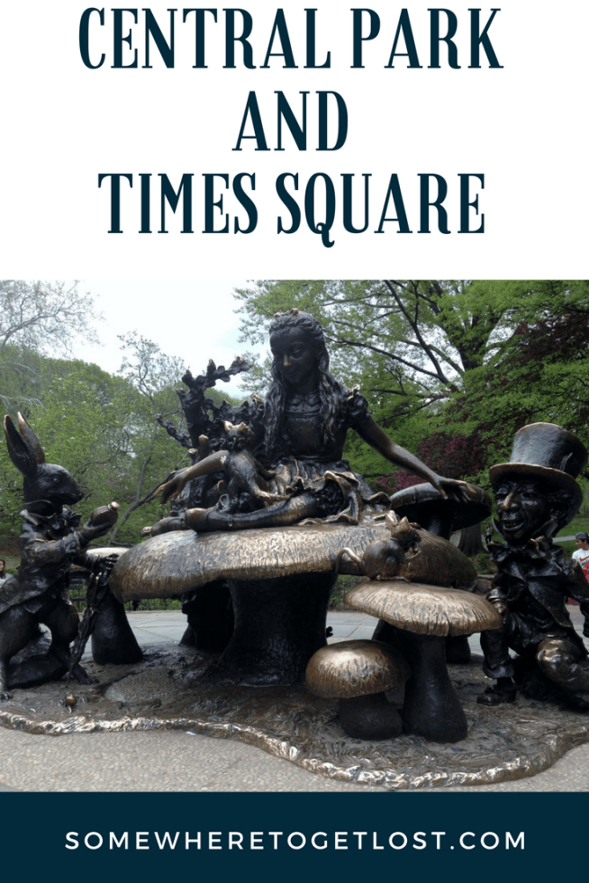 Central Park and Times Square