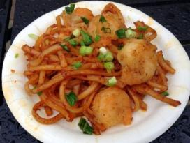 Epcot Food & Wine Black Pepper Shrimp