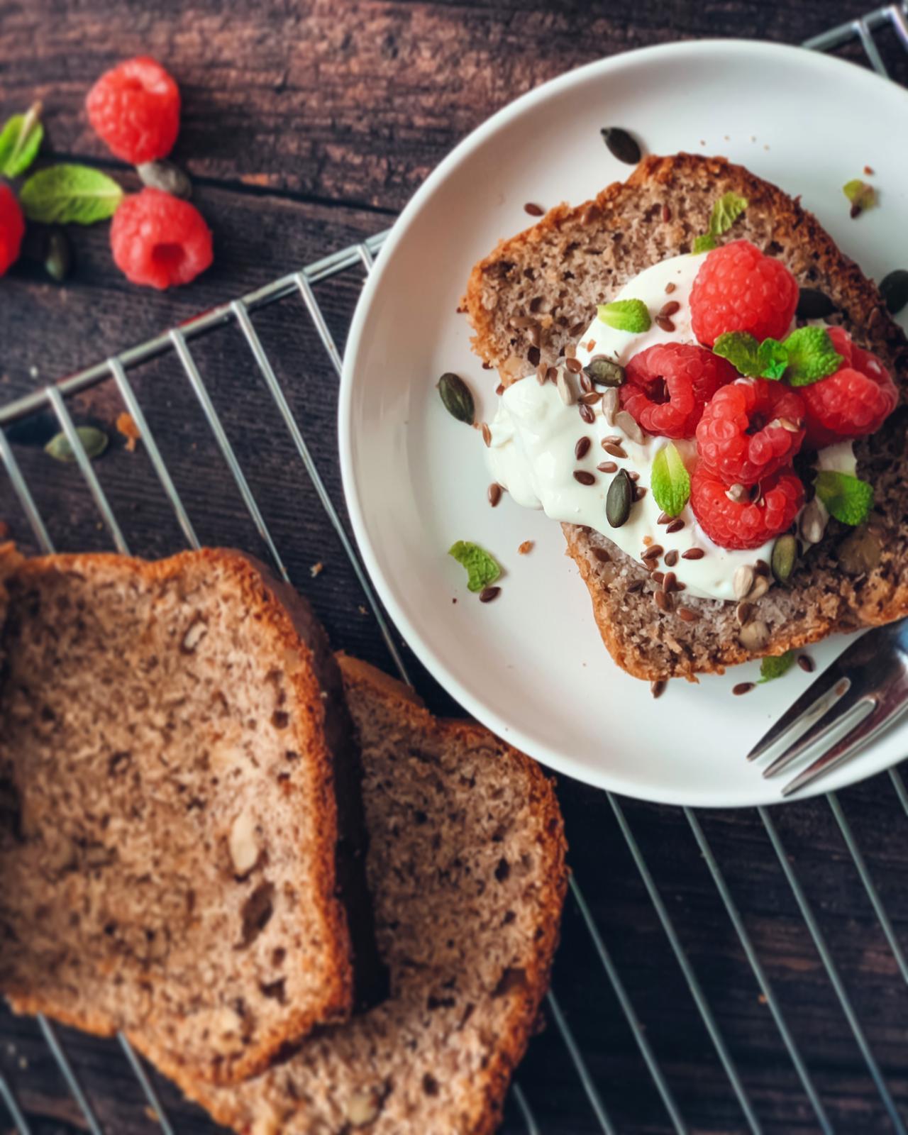 Healthy Banana Bread 2