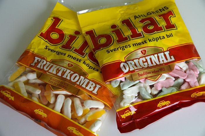 Zweedse lekkernijen uit de supermarkt - Ahlgrens bilar
