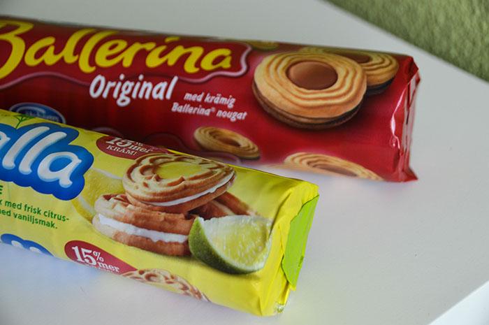 Zweedse lekkernijen uit de supermarkt - Ballerina kex